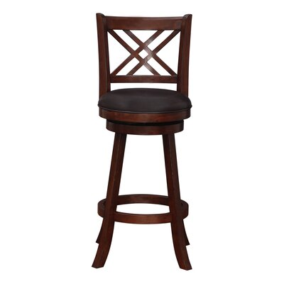 Emilie 29 Swivel Bar Stool Finish: Hazelnut