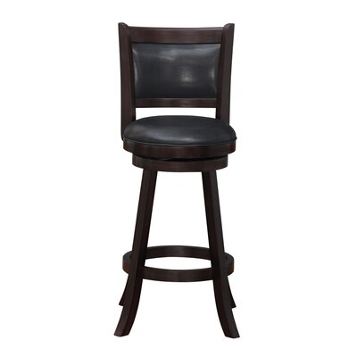 Enmore 29 Swivel Bar Stool Finish: Merlot