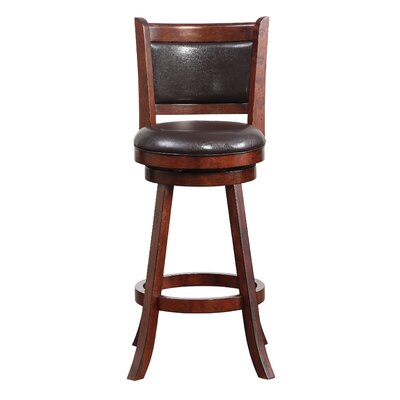 Enmore 29 Swivel Bar Stool Finish: Hazelnut