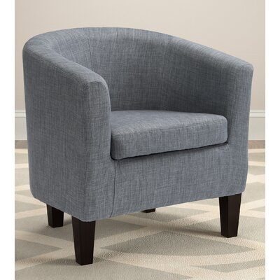 Dumbarton Barrel Chair Upholstery: Blue Gray Fabric