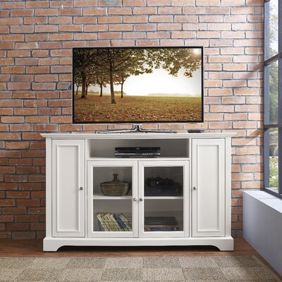 Edwin TV Stand Finish: White