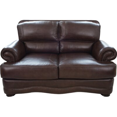 Eldora Leather Loveseat