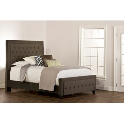 Bettyann Upholstered Panel Bed Size: Queen, Color: Pewter