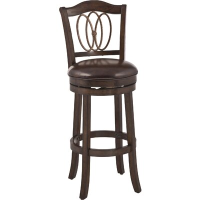 Emelia Swivel Bar Stool Size: 30