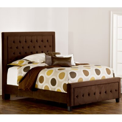Bettyann California king Upholstered Panel Bed Color: Chocolate