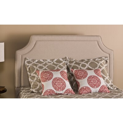 Emery Upholstered Panel Headboard Size: King