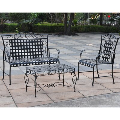 Doric 3 Piece Seating Group