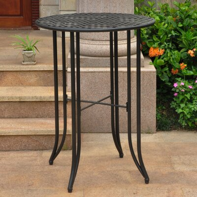 Doric Bar Table Finish: Antique Black