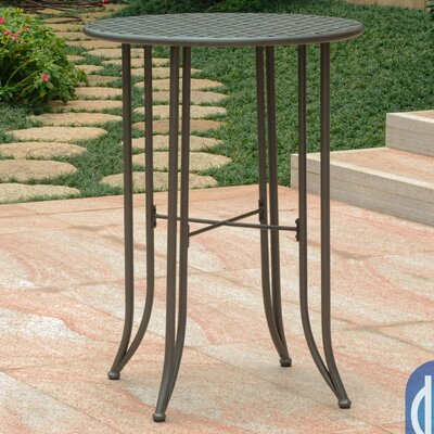 Doric Bar Table Finish: Matte Brown