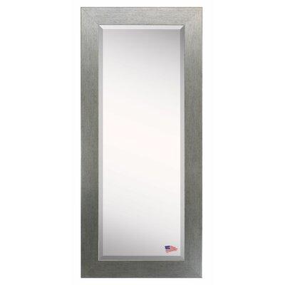 Silver Frame Body Mirror Size: 63.5 H x 25.5 W x 0.75 D