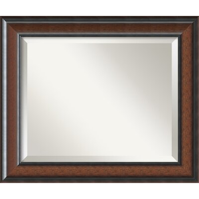 Halcott Rectangle Wall Mirror Size: 20.75 H x 24.75 W x 1 D