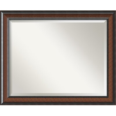 Halcott Rectangle Wall Mirror Size: 26.75 H x 32.75 W x 1 D