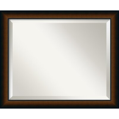 Rectangle Wood Frame Wall Mirror