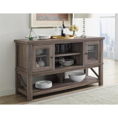 Morrell 64 TV Stand Color: Sonoma Oak
