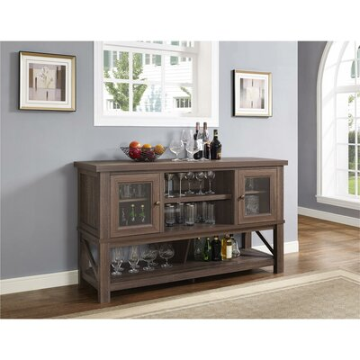 Morrell 64 TV Stand Color: Medium Oak