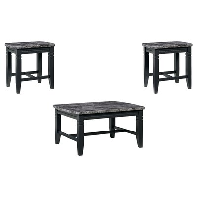Oberlin 3 Piece Coffee Table Set