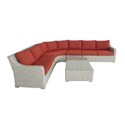 Crafton 6 Piece Seating Group with Cushion