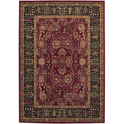 Edwards Red Area Rug Rug Size: 710 x 111