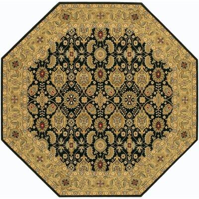 Edwards Brown/Beige Area Rug Rug Size: Octagon 710