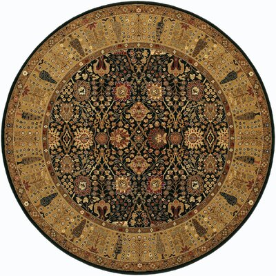 Edwards Brown/Beige Area Rug Rug Size: Round 710