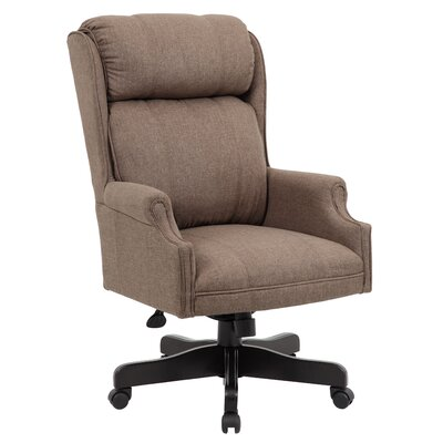Gallipolis Executive Chair Color: Dark Tan
