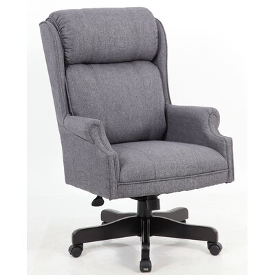 Gallipolis Executive Chair Color: Slate Gray