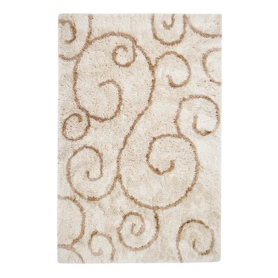 Edgewater Catskill Hand-Tufted Ivory Area Rug Rug Size: 8 x 10