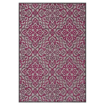 Sorrento Pink Area Rug Rug Size: Rectangle 76 x 106