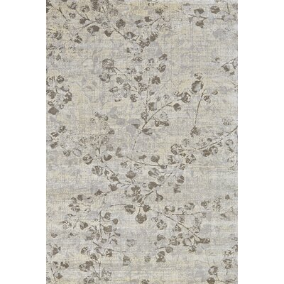 Justine Steel Area Rug Rug Size: Rectangle 74 x 103