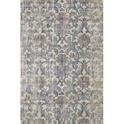 Karen Driftwood Area Rug Rug Size: Rectangle 92 x 122