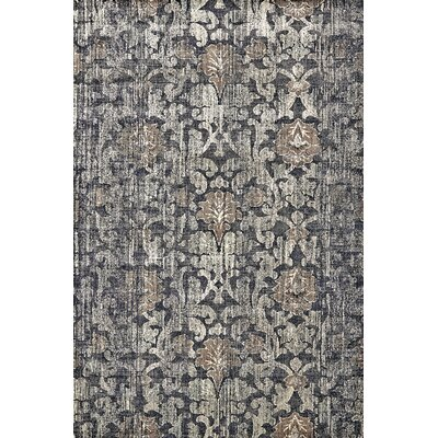 Kathleen Granite Area Rug Rug Size: Rectangle 92 x 122