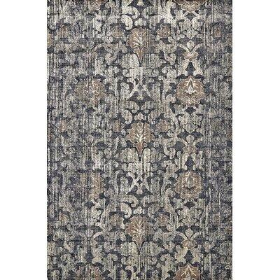 Kathleen Granite Area Rug Rug Size: 74 x 103