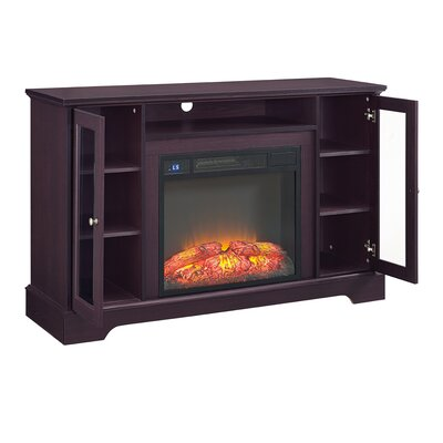 Kendall 52 TV Stand with Fireplace