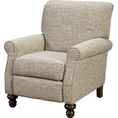 Serta Upholstery Lettie Recliner Upholstery: Renaissance Silver