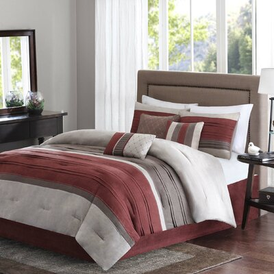 Rockland 7 Piece Comforter Set Size: California King
