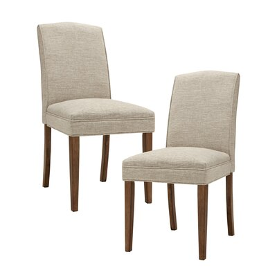 Woodcliff Side Chair Upholstery: Cream