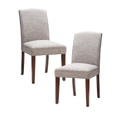 Woodcliff Side Chair Upholstery: Gray