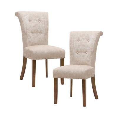 Olivier Side Chair Upholstery: Cream