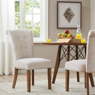 Olivier Side Chair Upholstery Color: Cream