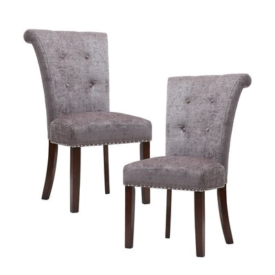 Olivier Side Chair Upholstery: Gray