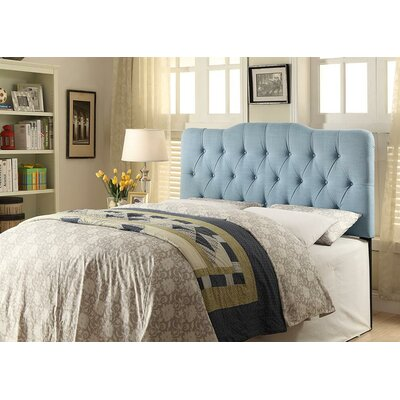 Norwalk Upholstered Panel Headboard Size: King