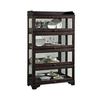 Solid Oak Curio Cabinet