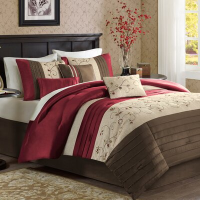 Brierwood 6 Piece Duvet Cover Set Size: Full / Queen