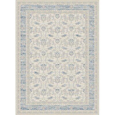 Dixon Ivory Area Rug Rug Size: 52 x 76