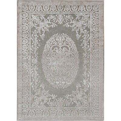 Nilsen Taupe Area Rug Rug Size: 52 x 73