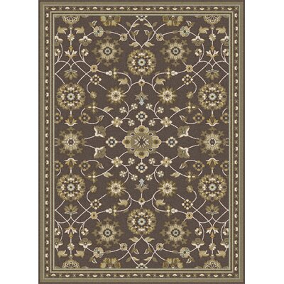 Nilsen Brown Area Rug Rug Size: 78 x 103