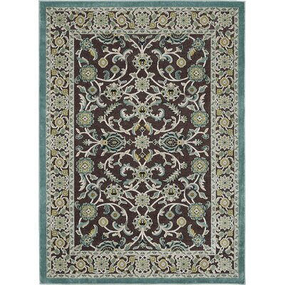 Nilsen Brown Area Rug Rug Size: 5'2 x 7'3