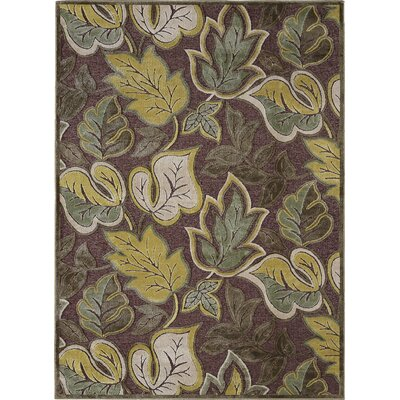 Nilsen Brown Area Rug Rug Size: 52 x 73