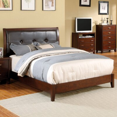 Caldwell Upholstered Panel Bed Size: King