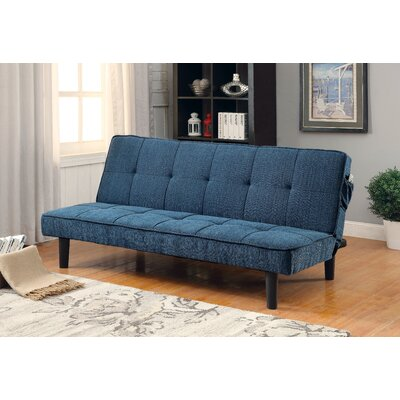 Lyndhurst Tufted Convertible Sofa Upholstery: Dark Teal